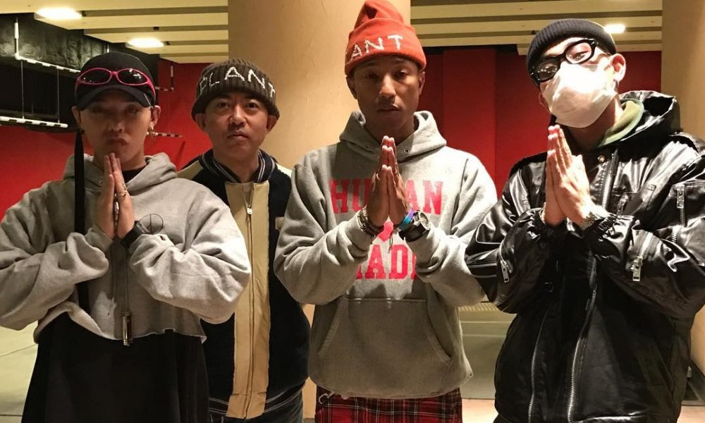 G-Dragon Bakal Kolaborasi Bareng Pharrell Williams?
