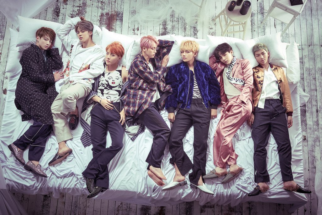 BTS Ajak Kalian Intip Pembuatan MV 'Blood, Sweat and Tears'
