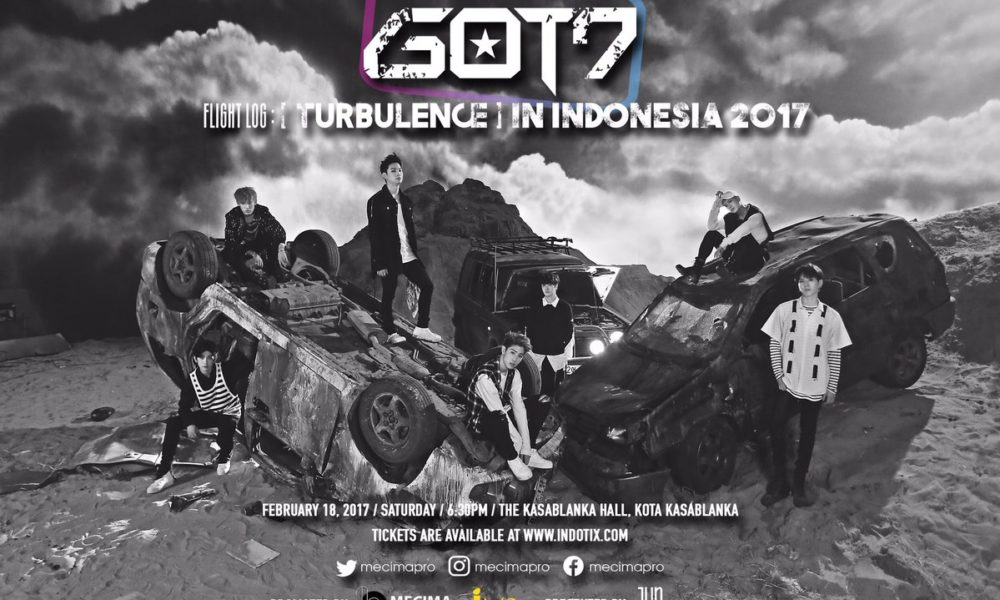 GOT7 Dikonfirmasi Akan Gelar Konser 'FLIGHT LOG: TURBULENCE' di Indonesia