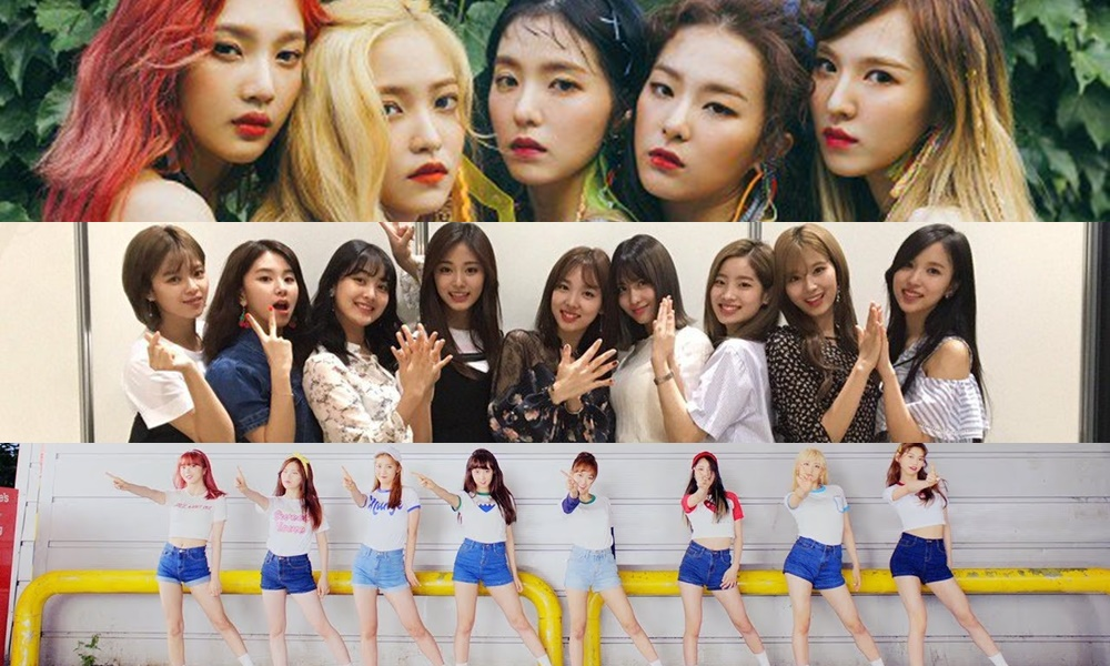 Red Velvet, TWICE dan Weki Meki