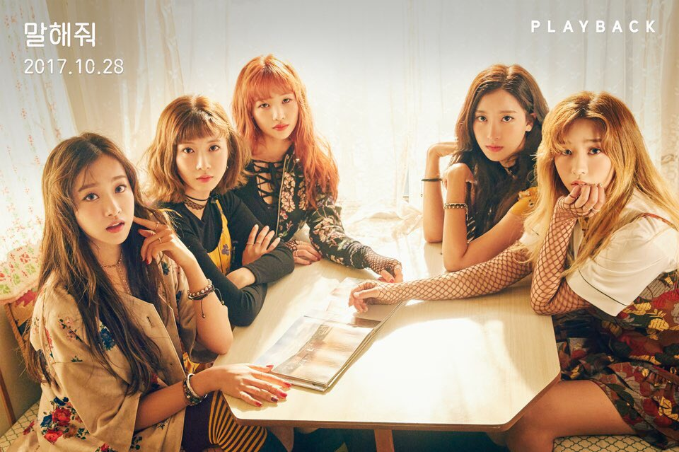 Girl Grup Playback Duduk Manis Dalam Teaser Comeback 'Want You To Say'