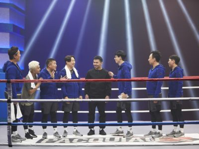 Infinity Challenge Manny Pacquiao
