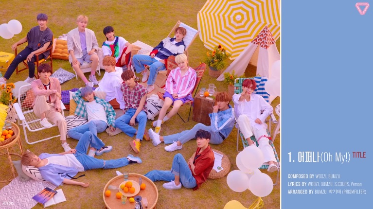 SEVENTEEN Perdengarkan Cuplikan 6 Lagu Dalam Mini Album 'You Make My Day'