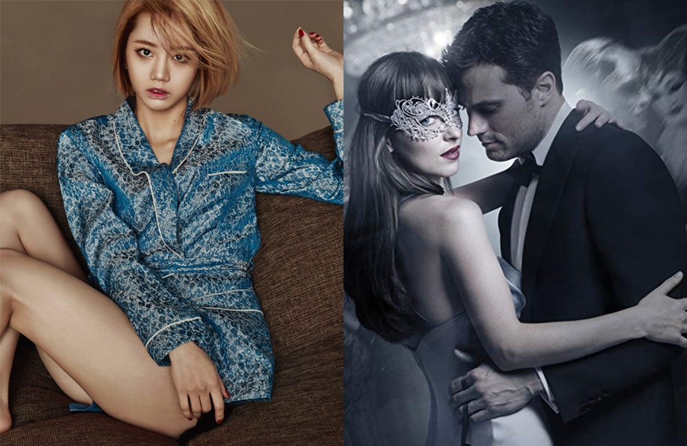 Hyeri Girl's Day Ternyata Penggemar Film 'Fifty Shades'?