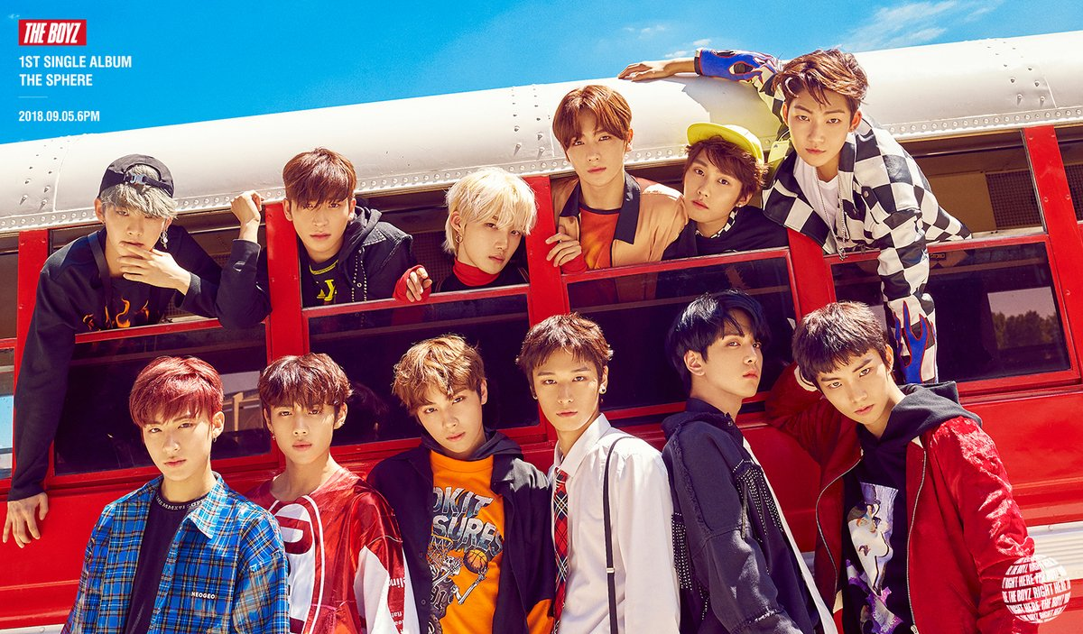 The Boyz Tampil Colorful Dalam Teaser Comeback 'The Sphere'