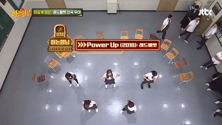 Intip Penampilan Red Velvet Dengan 'Power Up' Pertama Kali di 'Knowing Brothers'!