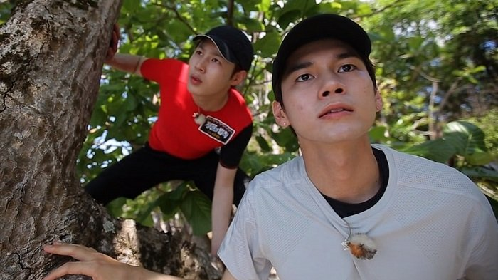 Ong Seung Wu dan Ha Sung Woon Wanna One Bertemu Buaya di 'Law of the Jungle'