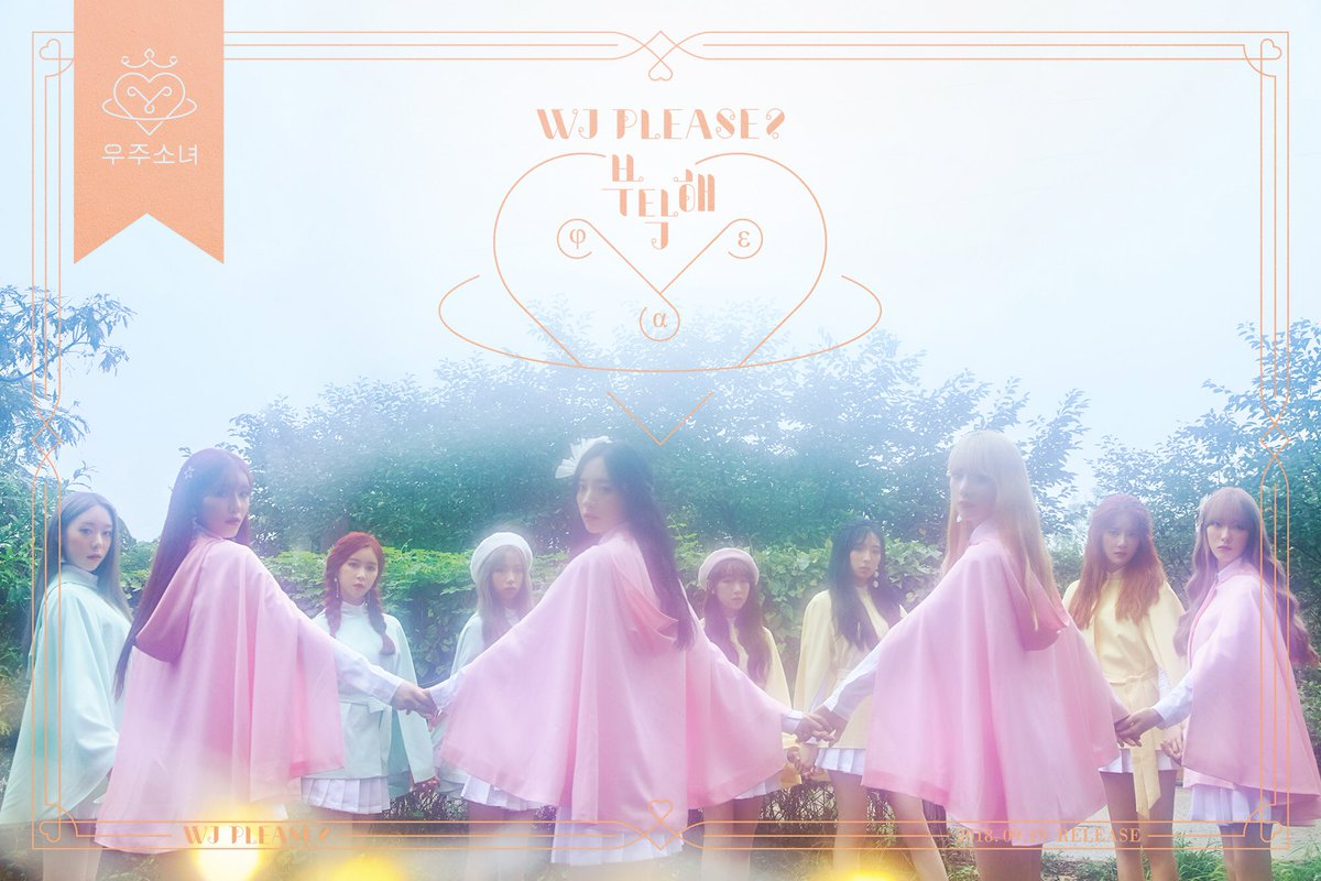 Cosmic Girls Rilis Secret Film Untuk Album 'WJ Please?'