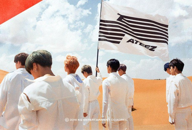 Adik Block B, ATEEZ Bersiap Debut Dengan Album 'Treasure Ep. 1: All To Zero'