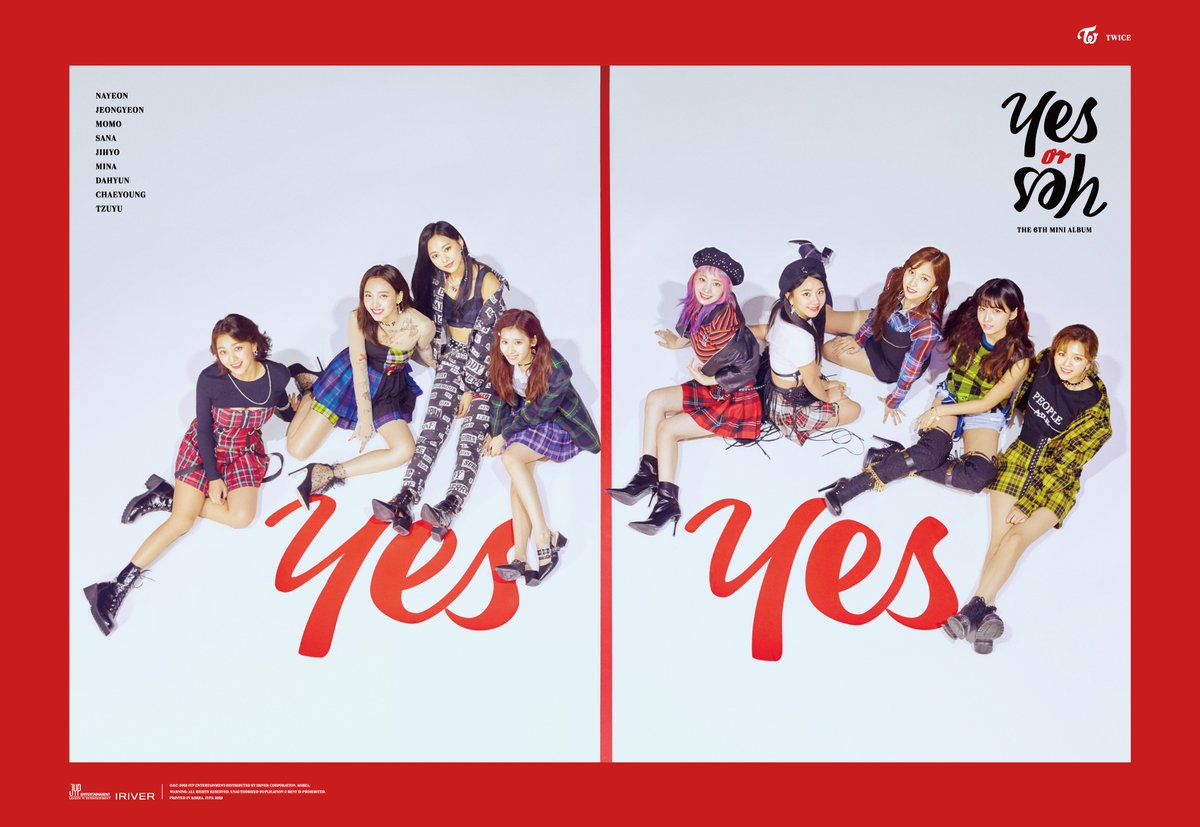 TWICE Raih Perfect All-Kill di Chart Musik Korea Dengan Lagu 'Yes or Yes'