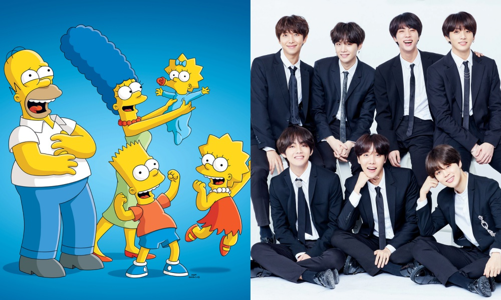 BTS dan ARMY Muncul di Serial Kartun 'The Simpsons'
