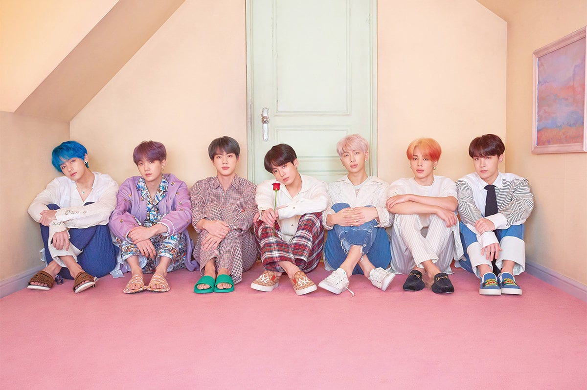 BTS Beberkan Daftar Lagu di Mini Album 'Map of the Soul: Persona'