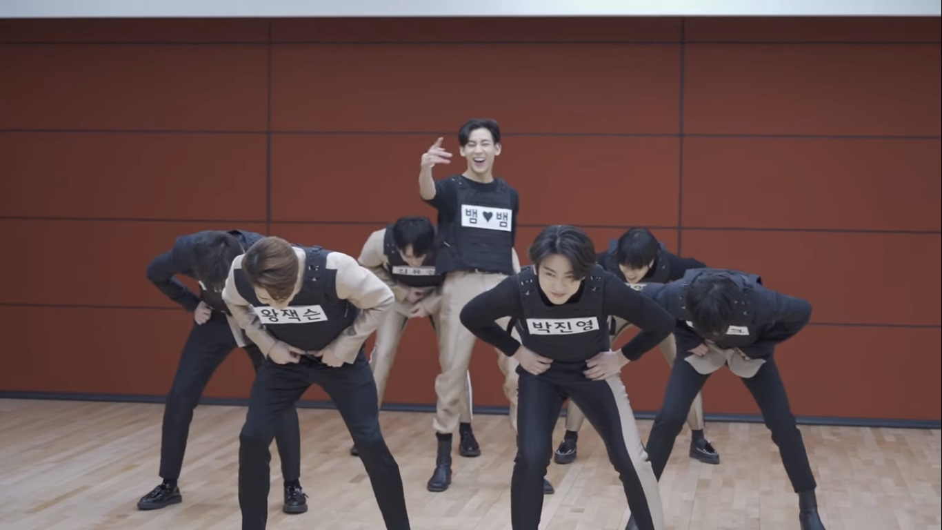 GOT7 Lakukan Permainan Sobek Name Tag Dalam Video Dance Practice 'You Calling My Name'