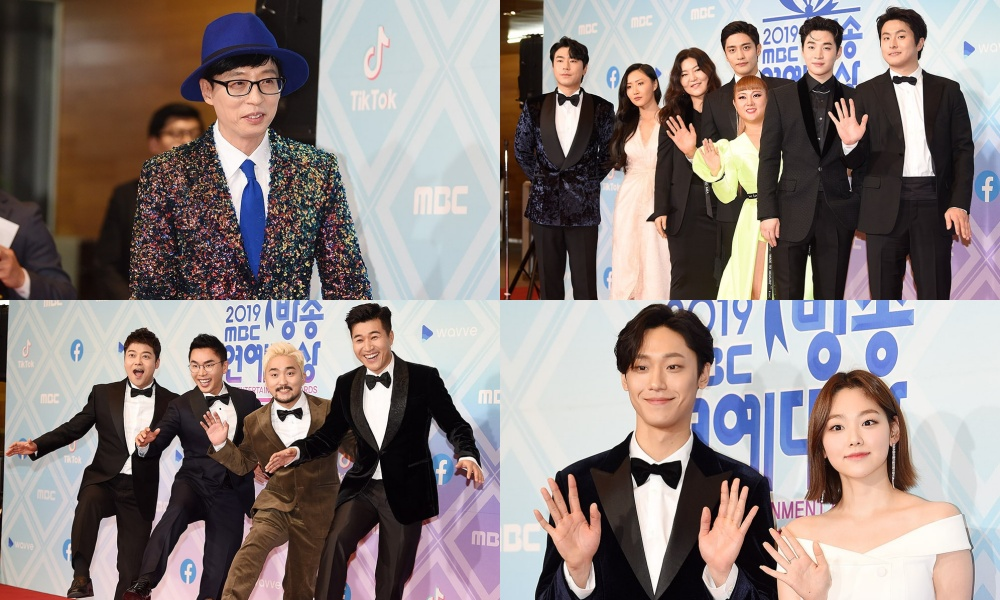 Foto Para Selebriti Korea di Karpet Merah 'MBC Entertainment Awards 2019'