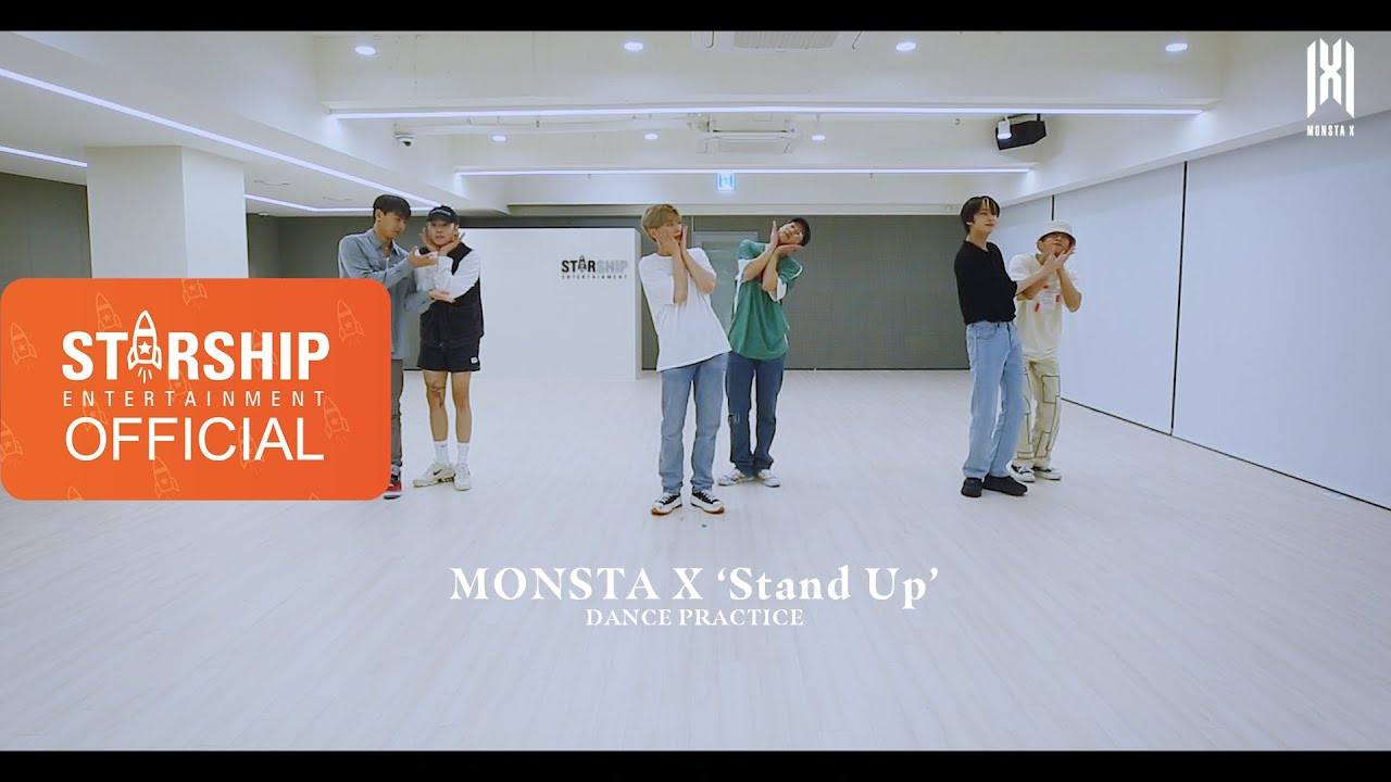 MONSTA X Pamer Gerakan Asik Dalam Video Dance Practice 'Stand Up'