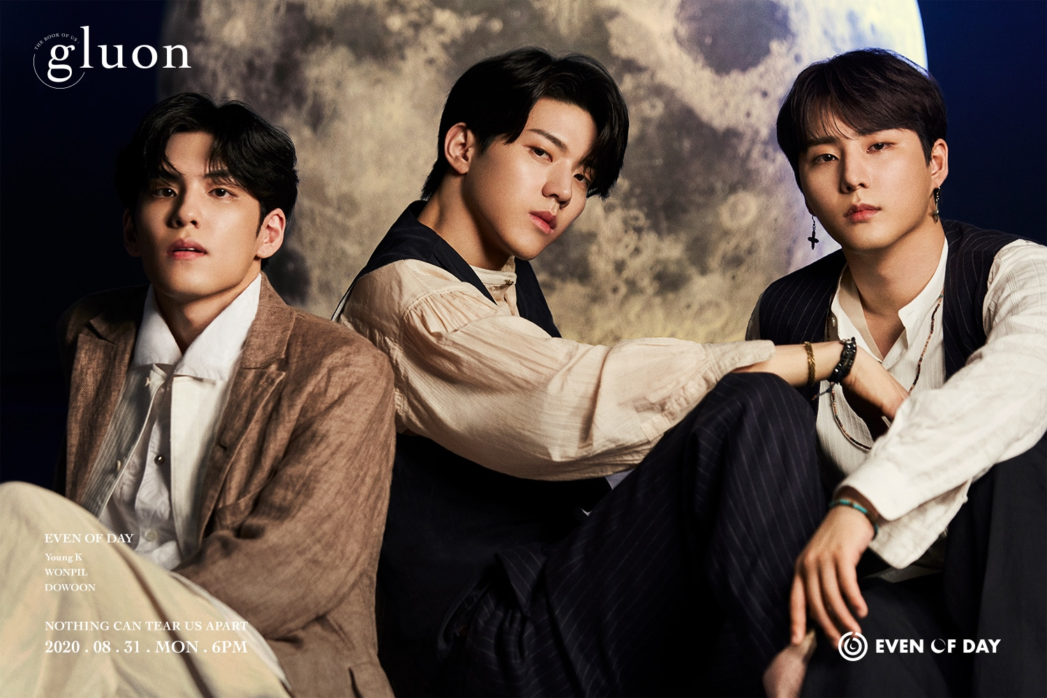 Unit DAY6, Even of Day Rilis Teaser Group 'The Book of Us : Gluon'