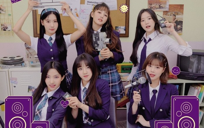 (G)I-DLE Rilis Poster Konser Online 'GBC in the NEVERLAND'