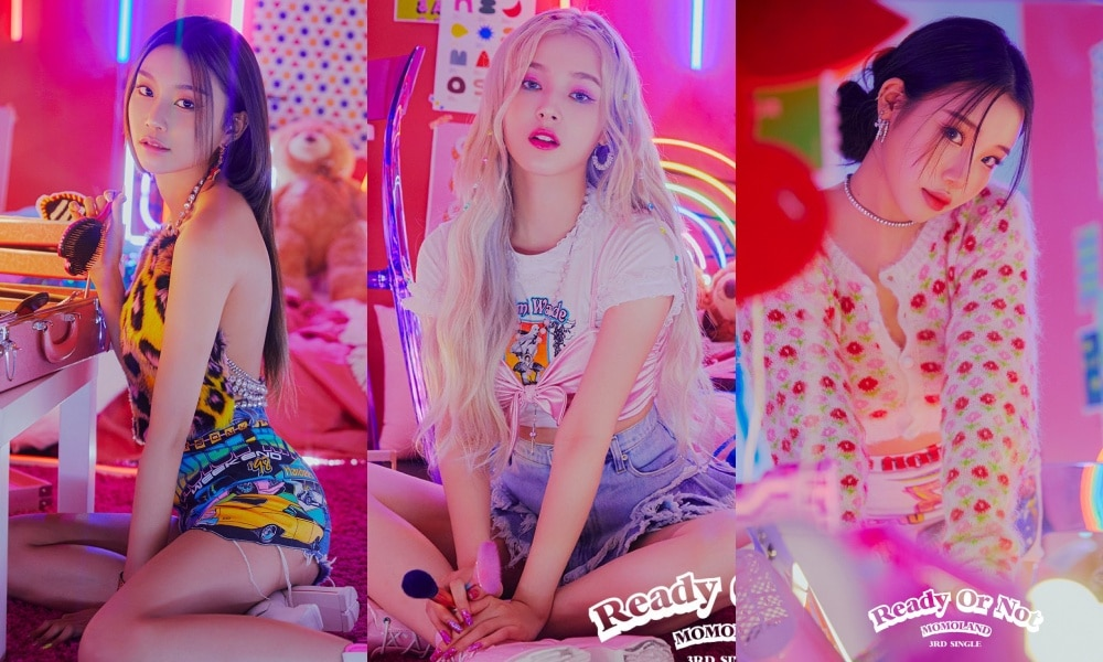 MOMOLAND Bersiap Comeback Lewat Teaser Individual 'Ready or Not'