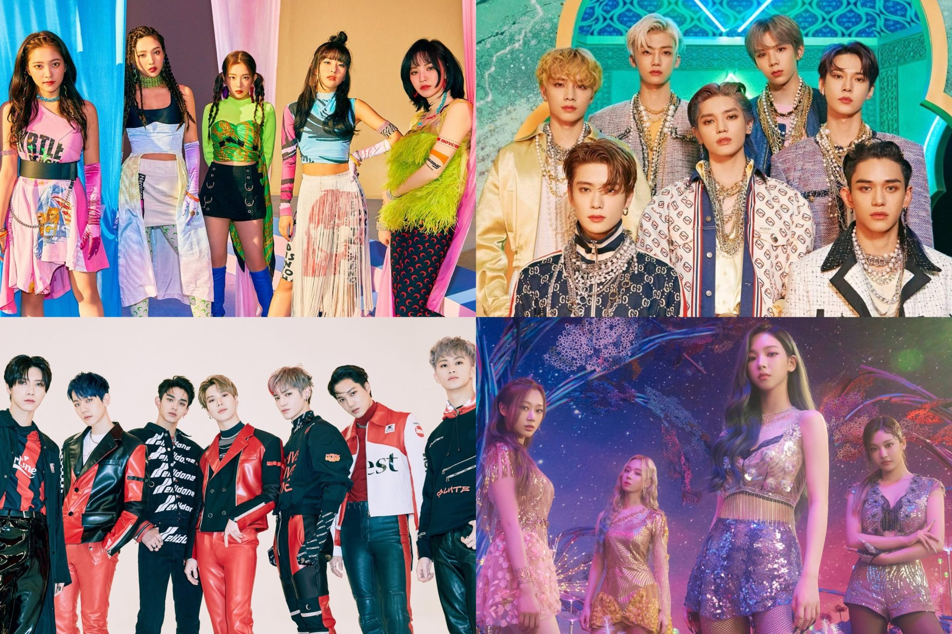 SM Entertainment Bahas Hubungan MV NCT, SuperM, Dan aespa Hingga Comeback Red Velvet