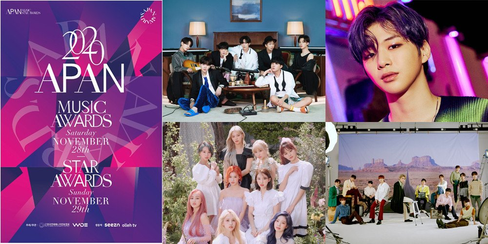 'APAN Awards 2020' Umumkan Daftar Top 10 Artis, Best MV Hingga Best Performance