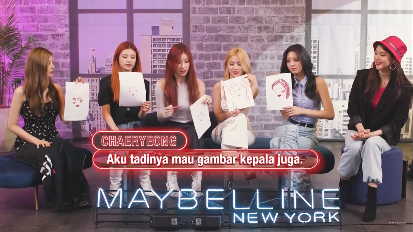 ITZY Maybelline 2